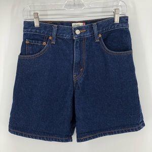 Levi's 550 High Rise Long Shorts   4